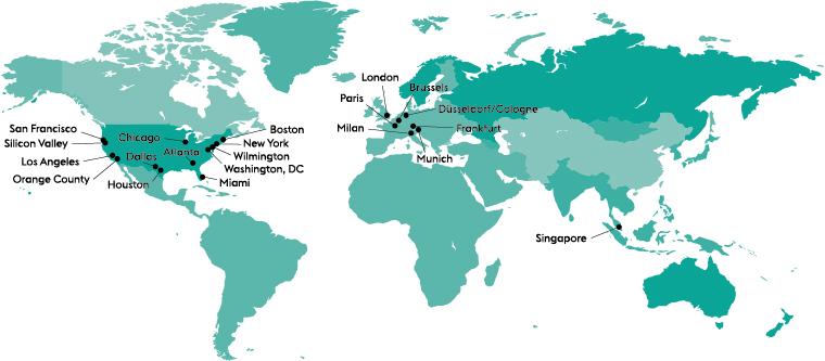 McDermott Will & Emery Locations